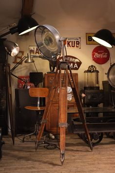 92 Best Unique Vintage Spotlights Images Industrial