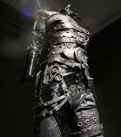 edward scissorhands costume designed by tim burton