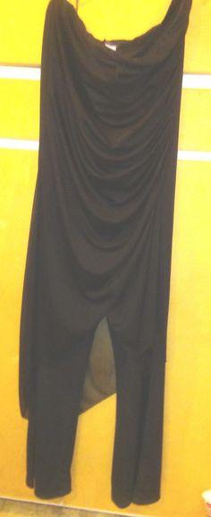 ENTRARCY - Elengant Black Pant / Dress Jumpsuit Size 1X #Entrarcy #Jumpsuit