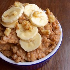 This Crock Pot Banana Nut Oatmeal sounds great for a cold winter morning.