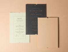 Dribbble - by Drew Roper Classic Wedding Invitations, Unique Invitations, Invitation Paper, Invitation Design, Wedding Stationery, Invite, Designers Gráficos, Wedding Graphics, Paper Companies