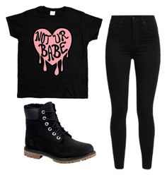 """Untitled #1191"" by anime-nerd-wolf ❤ liked on Polyvore featuring Levi's and Timberland"