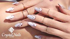 crystalnails ngel nagelstudio nailart muster gelngel babyboomer nagelstudiowien gelngel malerei crystalnailssterreich pinterest - Nailart Muster