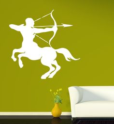 Wall Stickers Centaur Creature Greek Mythology With The Head Body Vinyl Vinyl Wall Stickers, Wall Decals, Wax Seal Stamp, Centaur, Custom Wall, Greek Mythology, Mythical Creatures, Decoration, Interior And Exterior