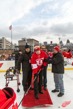 Konstantinov.......Alumni Classic  Photo from the Detroit Red Wings