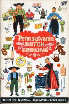 Pennsylvania Dutch cookbook, I love these little cook books!