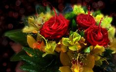 PAINTING FLOWERS - 3D and CG Wallpaper ID 1462681 - Desktop Nexus Abstract