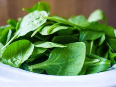 mmmm, spinach :) good for lots of things!
