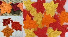 How To Crochet Maple Leaves