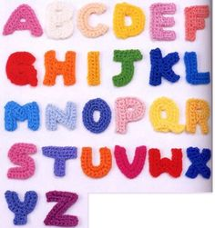 Free Filet Crochet Alphabet Patterns | Free Stuff: ALPHABET Letters ABC's CROCHET Pattern PDF File - Listia ...