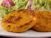Hambúrguer de Abóbora (vegana)