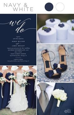 Five Stunning Navy Blue Color Palettes for 2017 Weddings. wedding colors september / fall color wedding ideas / color schemes wedding summer / wedding in september / wedding fall colors Wedding Themes, Wedding Events, Wedding Decorations, Wedding Ceremony, Blue White Weddings, Navy Blue Wedding Theme, Sapphire Wedding Theme, Navy Weddings, Blue Silver Weddings