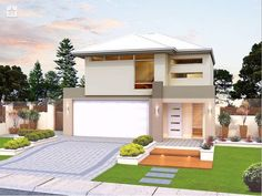 Photo of a house exterior design from a real Australian home - House Facade photo Browse hundreds of facade designs from Australian homes on Home Ideas.