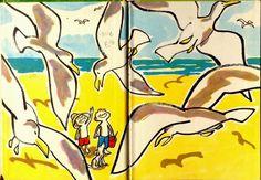"""L'Aeroplano di Biscotto: L'estate bambina: """"Summer"""" illustrato da Roy Mc Kié"""