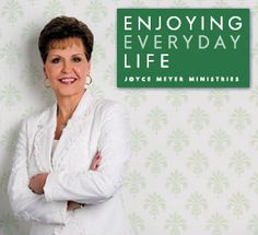 Watch Joyce Meyer in Enjoying Everyday Life on TCT Monday through Friday at 7:30a & 11:30a CST. #JoyceMeyer #EnjoyingEverydayLife
