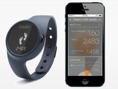 The iHealth Activity and Sleep Tracker tracks every step you take, distance traveled, calories burned, and sleep efficiency.