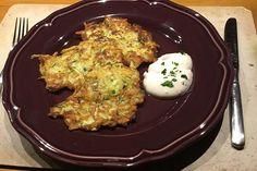 Kartoffel - Zucchini - Taler Pizza, Snacks, Cauliflower, Potatoes, Eggs, Vegetables, Breakfast, Drink, Classic