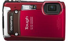 Olympus Tough TG-820 Digital Compact Camera | Olympus Imaging Australia - So TOUGH RED
