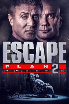 Sylvester Stallone and Dave Bautista in Escape Plan Hades Sylvester Stallone, The Comedian, Jesse Metcalfe, Movies To Watch Online, Movies To Watch Free, Movies Free, Free Films, Hades, Book Of Love