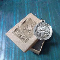 pewter coast guard keychain engraved keepsake box guardsman ships