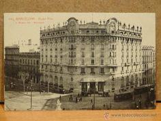 145 - BARCELONA. HOTEL RITZ. FOT-L. ROISÍN. SIN CIRCULAR. PERFECTA.
