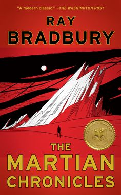 The Martian Chronicles by Ray Bradbury http://www.bookscrolling.com/the-27-best-books-about-space-fiction-non-fiction/ #bestspacebooks #bookscrolling