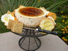 Savory Cheesecake with Jalapeno Pepper Jelly