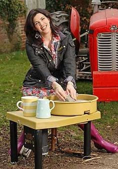 Property guru Kirstie Allsopp on body image, babies and turning down Strictly Come Dancing Barbour Jacket Women, Hunter Wellies, Strictly Come Dancing, Hunter Original, Belstaff, Tv Presenters, Domestic Goddess, Style Challenge, Home Crafts