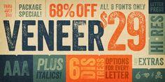 Veneer - Webfont & Desktop font « MyFonts
