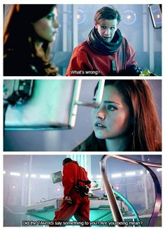 I like that the TARDIS isn't fully accepting of Clara. It's always hard to accept a new companion, but Clara makes it extra hard.
