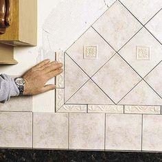 How To Install Kitchen Backsplash | xtrainradio
