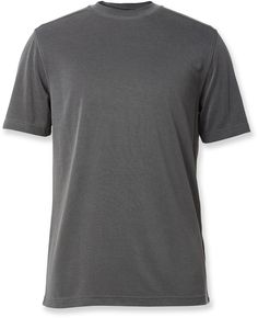 Royal Robbins Male Desert Knit Pique Crew Shirt - Men's