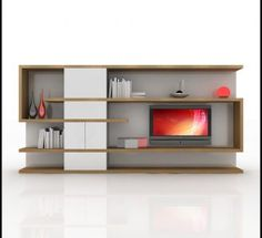 home media tv wall unit modern design