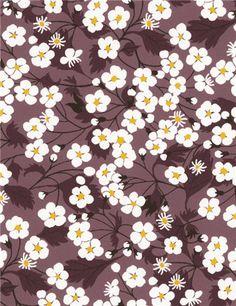 Mitsi - Liberty of London Textile Patterns, Textile Prints, Flower Patterns, Color Patterns, Print Patterns, Floral Prints, Pattern Print, Textiles, Cute Pattern