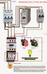 Esquemas eléctricos: Rèle falta de fase                                                                                                                                                      Mais