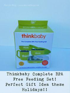 Thinkbaby Complete BPA Free Feeding Set!! #2016HGG  @Thinkbaby_sport