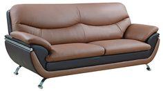 "Global U2106 Sofa - Dimensions: L83"" x D38"" x H37""."