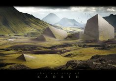 Lovecraftian Landscape:  The Lost City of Kadath