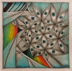 Zentangle Inspiration ~ AKUA-ART
