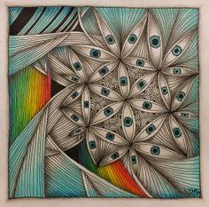Zentangle Inspiration ~ AKUA-ART