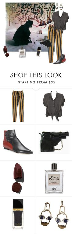 """my roots"" by fufuun ❤ liked on Polyvore featuring Scotch & Soda, Evil Twin, Derek Lam, Lipstick Queen, Steidl and Tom Ford"