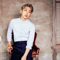 Man Crush Monday, Korean Music, Kpop Boy, Kpop Groups, Kawaii, Chef Jackets, Fandoms, Entertainment, Mint