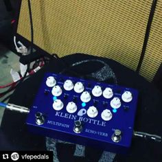 [video] Repost @vfepedals:  Just because I can... #kleinbottle  #vfepedals #guitarpedals #effectpedals #gearnerds
