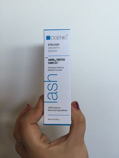 Charlotte French Beauty OGENIC eyelash serum review! Day 1/60