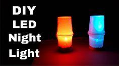 How to Make Simple LED Table/Night Lamp | DIY LED Night Light  #DIYLamp  #LEDLamp