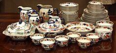 gaudy willow   2083: Buffalo Pottery table service