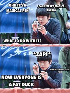 B1A4! Hahaaahahaha this describes Sandeul perfectly!! Oh he's so funny, his expressions are just THE BEST!!!!