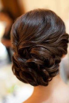 Bryllups håroppsett