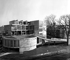 The Carpenter Center at Harvard University   1961   Cambridge, Massachusetts   Le Corbusier