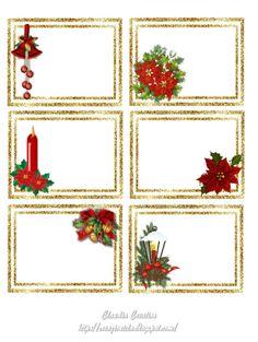 il mio angolo creativo: Etichette per Natale 3